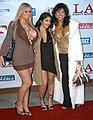 Abbey Brooks, Leah Jaye, Unknown at L.A. Direct Models Party 2.jpg
