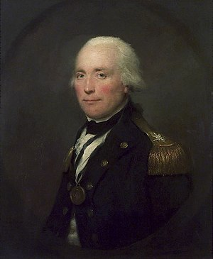 Robert Calder - Portrait of Robert Calder by Lemuel Francis Abbott, painted 1797