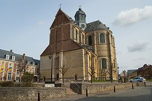 Grimbergen Abbey - Grimbergen Abbey church.