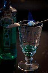 Flaming drink - Wikipedia