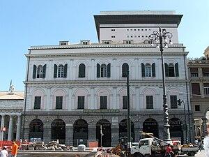 Accademia Ligustica di Belle Arti - Image: Accademia Ligustica di Belle Arti a piazza De Ferrari, Genova