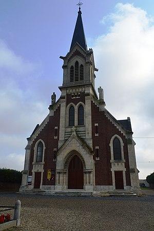 Achery, Aisne - The Church of Saint Martin