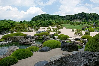 Japanese museums - Image: Adachi Museum of Art 04st 3200