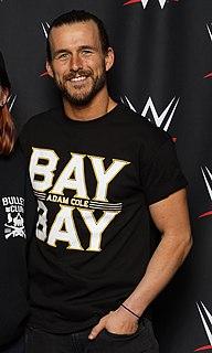 Adam Cole American professional wrestler