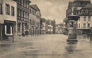 Adenau - Adenau flood June 1910
