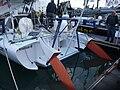 Adjustable rudder blades on 60 feet Great American III.jpg