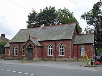 Adlington, Cheshire - Image: Adlington village hall