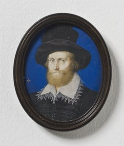 Admiral George Clifford (1558-1605), 3rd earl of Cumberland (Isaac Oliver) - Nationalmuseum - 24925.tif