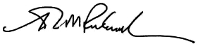 Admiral John M. Richardson signature