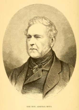 Henry John Rous - Illustration of Admiral Rous taken from James Rice's History of the English Turf (1879)