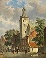 Adrianus Eversen - Holländische Stadtansicht.jpg