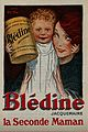 Advertisment for Blédine showing a mother and her child Wellcome V0047586ER.jpg