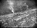 Aerial view of a smoke fire coming from rocks which was investigated during search for the 'Southern Cross', Kimberley region, Western Australia, 12 April 1929. (7974547461).jpg