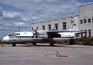 Aeroflot Flight 13 1973 Antonov An-24 crash in Baku
