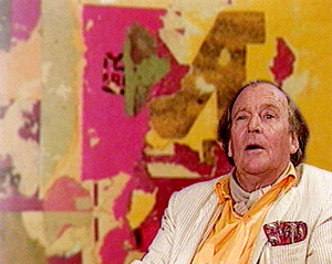 Arthur Aesbacher - Arthur Aeschbacher (Still from a vidéo from the Encyclopédie audiovisuelle de l'art contemporain).