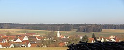 Blick auf Agawang (Gem. Kutzenhausen)