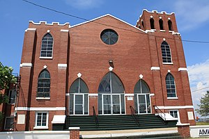 National Register of Historic Places listings in Mobile, Alabama - Image: Aimwell Baptist Church 02