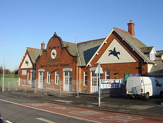Aintree Racecourse - Traditional entrance