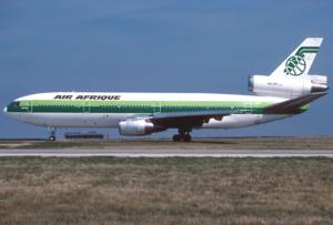 Air Afrique - An Air Afrique McDonnell Douglas DC-10-30 at Charles de Gaulle Airport in 1993.
