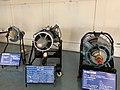 Aircraft Engines at display - Hindustan Aeronautics Limited Heritage Centre and Museum (Ank Kumar) 04.jpg