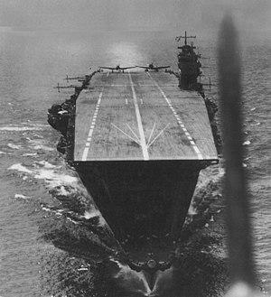 Japanese aircraft carrier Akagi - Image: Akagi Deck April 42