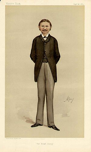 "Aretas Akers-Douglas, 1st Viscount Chilston - ""The Kent Gang"" As depicted by ""Ape"" (Carlo Pellegrini) in Vanity Fair, 26 September 1885"