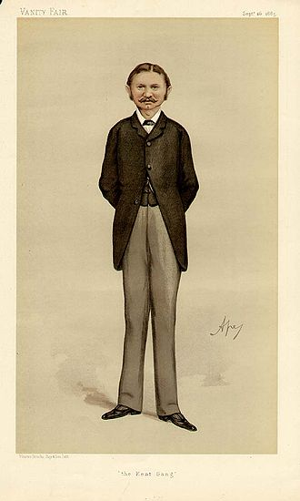 "Aretas Akers-Douglas, 1st Viscount Chilston - ""The Kent Gang"" As depicted by ""Ape"" (Carlo Pellegrini) in Vanity Fair, 26 September 1885"