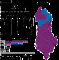 Albania 2013 parliamentary elections hu.png