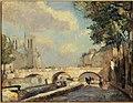 Albert Lebourg - Le pont Saint-Michel et Notre-Dame, vus du quai des Grands-Augustins - P459 - Musée Carnavalet.jpg