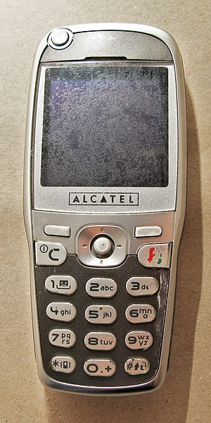 Alcatel-Lucent - Image: Alcatel One Touch 535, front side (filtered cropped)