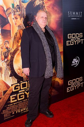 Alex Proyas - Alex Proyas on the red carpet for Gods of Egypt, 2016