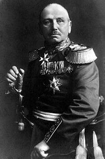 Alexander von Kluck German general