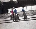 Alexei, Maria, Olga and Tatiana of Russia at a train station.jpg