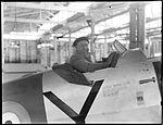 Alfi Fowler in the cockpit of Arvro Anson (2820268225).jpg