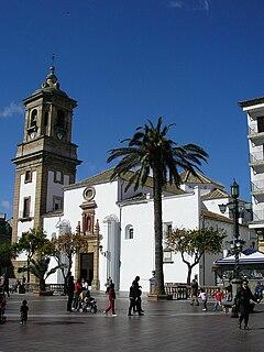 Church in Algeciras, Spain