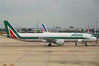 EI-IXV - A321 - Alitalia