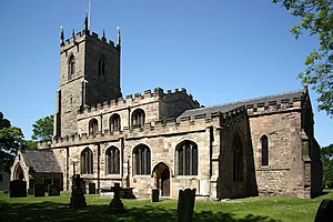 Duke of Leeds - All Hallows Church, Harthill, South Yorkshire
