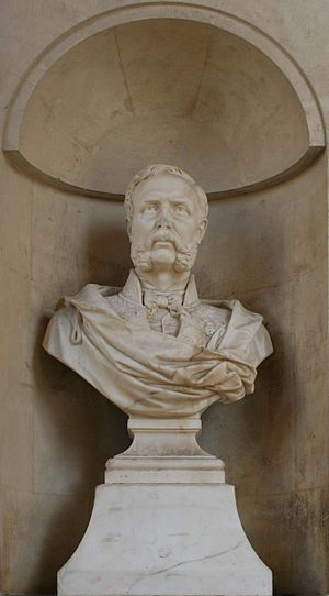 Jean François Mayor de Montricher - Bust by Andre-Joseph Allar at the Palais Longchamp in Marseille