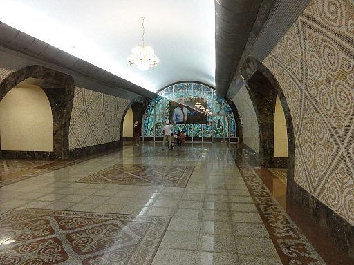 Almaty-Metro station Almaly