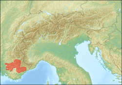 Alps location map (Alpes de Provence, SOIUSA).png