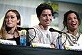 Alycia Debnam-Carey, Lorenzo James Henrie & Danay Garcia (28448681692).jpg