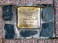 Am Markt 5 Celle, Stolperstein Frieda Gimpel, 1894 geb. Heumann, deportiert 1943, verschollen in Auschwitz.jpg