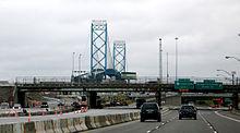 Foto der Ambassador Bridge und