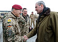 Ambassador Murphy meets German forces in Afghanistan22Jan2011 (5369913520).jpg