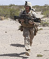 America's Battalion takes Texas, Echo Company fires the first shot 140405-M-WC184-877.jpg