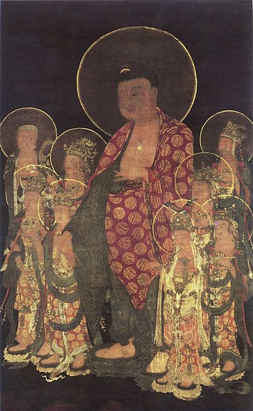 File:Amitabha with Eight Great Bodhisattvas (Tokugawa Art Museum) 2.jpg