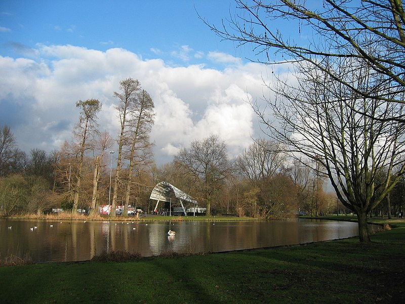 The open air theatre in the Vondelpark