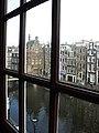 Amsterdam - Oudezijds Voorburgwal - from Museum Ons' Lieve Heer op Solder.JPG