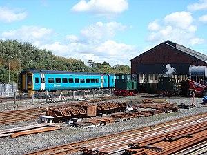 Aberystwyth railway station - The former GWR locomotive depot