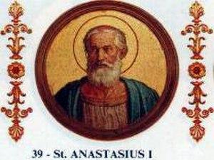 Pope Anastasius I - Image: Anastasius I